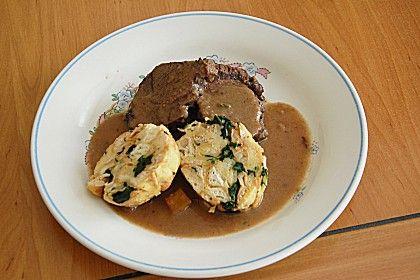 Zarter Rehrücken an Rotweinsoße (Rezept mit Bild)   Chefkoch.de