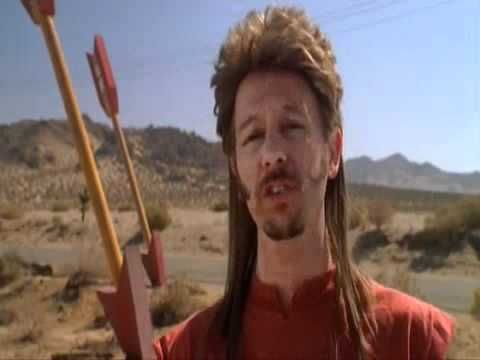 Joe Dirt Fireworks Stand Scene