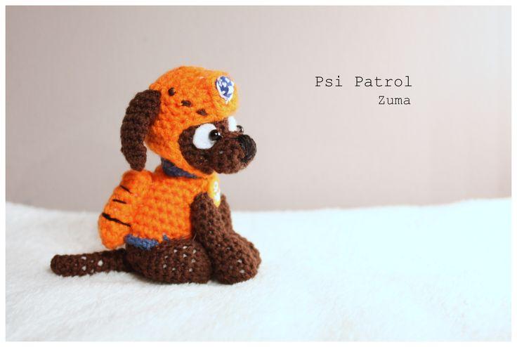 Amigurumi Zuma  #amigurumi #amigurumis #pawpatrol #paw #patrol #psi #patrol #psipatrol #szydełkowanie #crochet #dogs #zuma