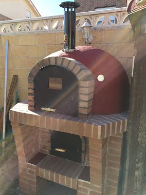 Diy Pizza Oven, Pizza Oven Outdoor, Four A Pizza, Wood Oven, Grill Design, Barbacoa, Home Upgrades, Bbq Grill, New Homes