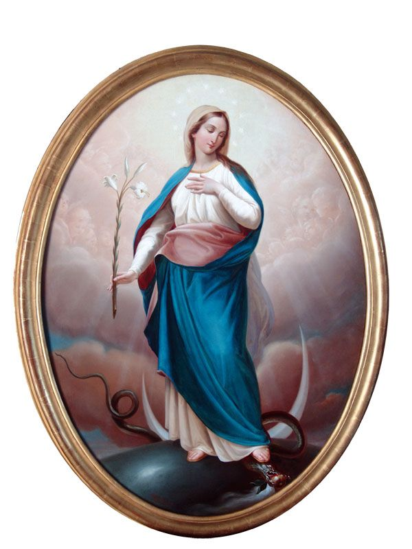 The Immaculate Conception, Patroness of Brazil, Nicaragua, The Philippines, Portugal, South Korea, Spain, and the United State...