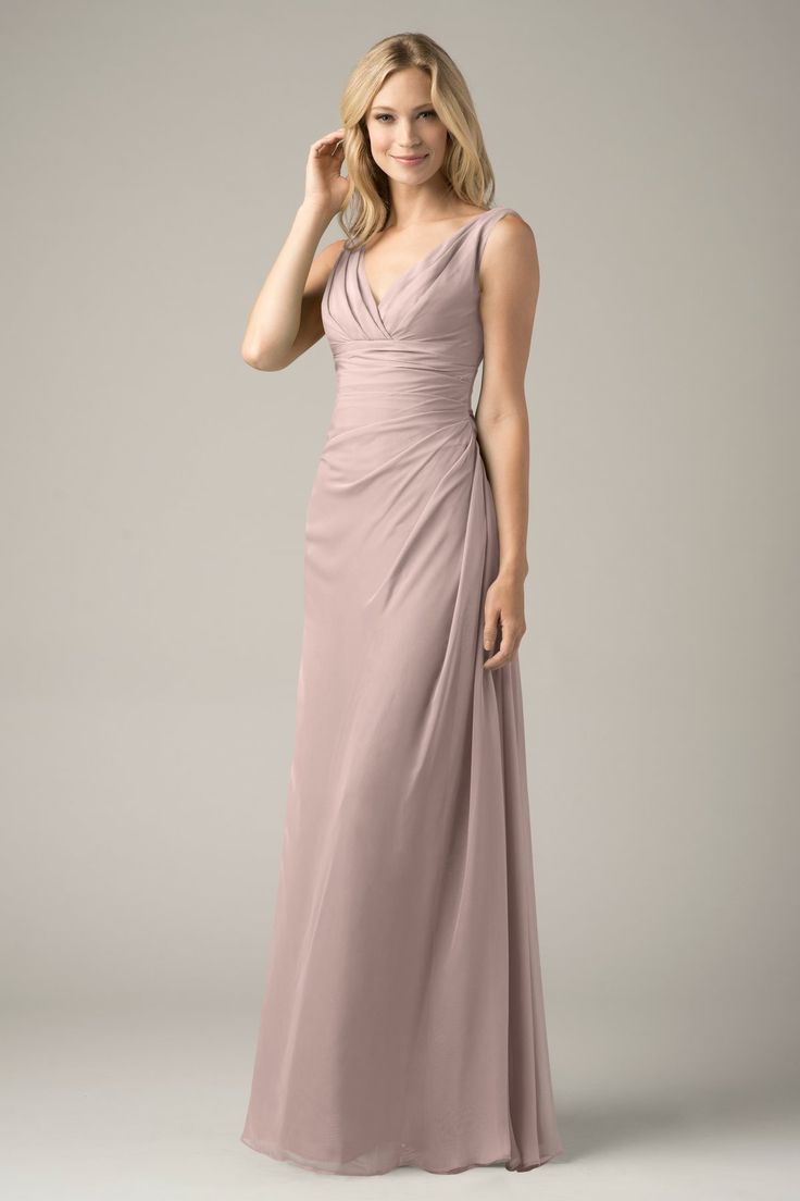 15 best chiffon bridesmaid dress images on pinterest chiffon shop wtoo bridesmaid dress 809 in crystal chiffon at weddington way find the perfect made to order bridesmaid dresses for your bridal party in your ombrellifo Image collections