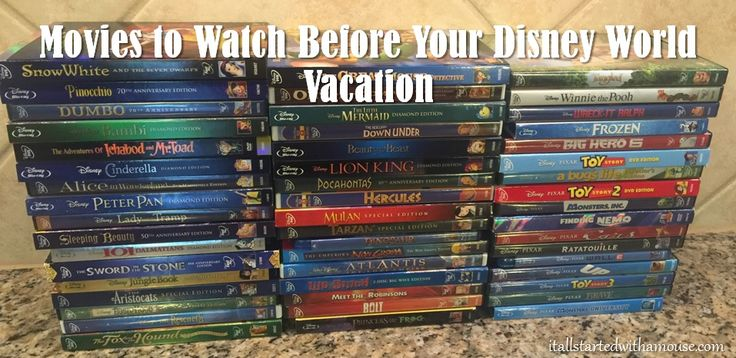14 Must See Movies to Watch Before Your Next Disney World Vacation! (Plus some honorable mentions for each park!) #itallstartedwithamouse