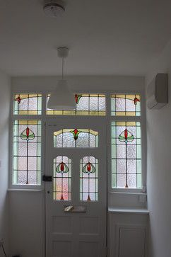 Refurbishment of 1930s semi traditional entry