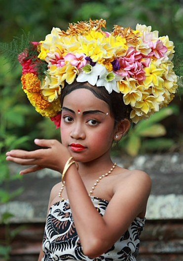 This rejang head flower arrangement is beautiful.