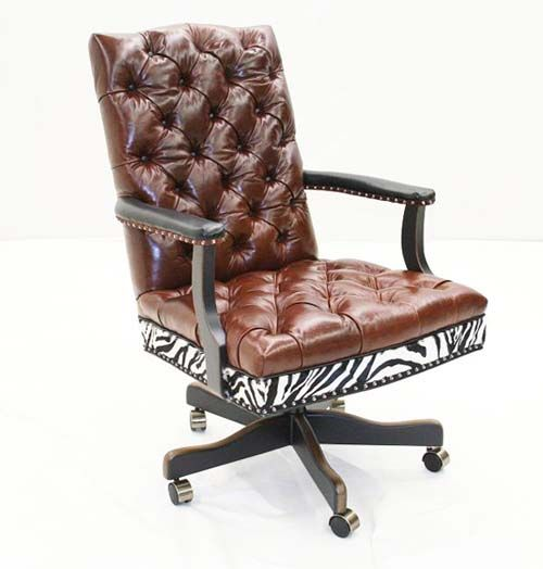 Leather Exotic Office Chair Western Office Furniture