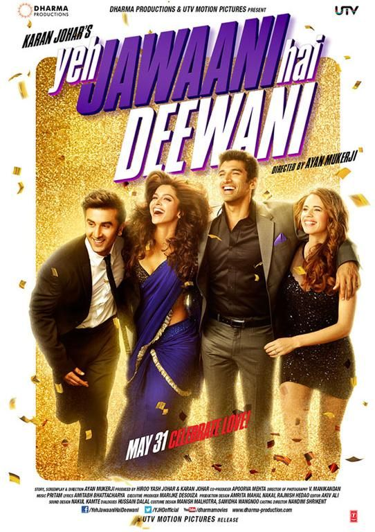 Record Breaking start for Indian Movie Ye Jawani Hai Dewani