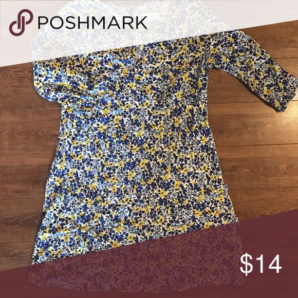 Maternity floral dress Gently used old navy maternity dress Old Navy Dresses Midi