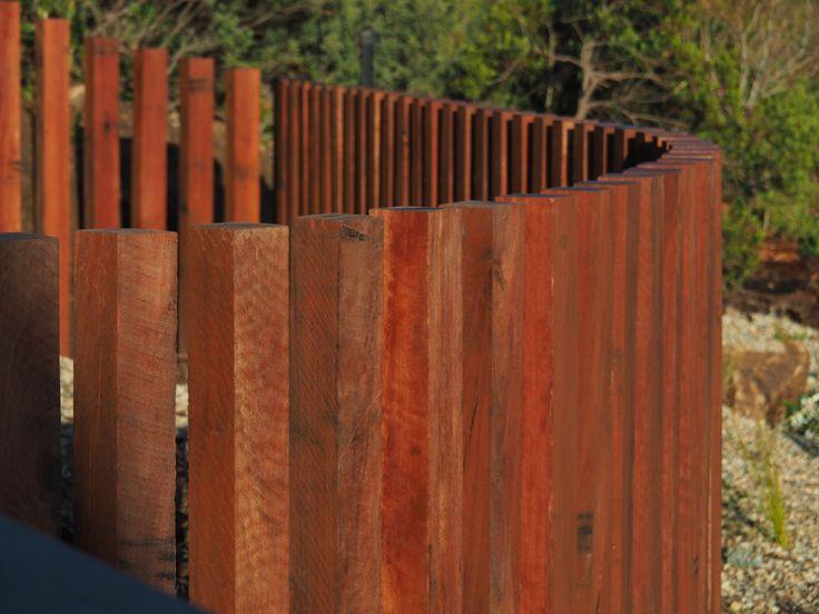 Ironbark pool fence