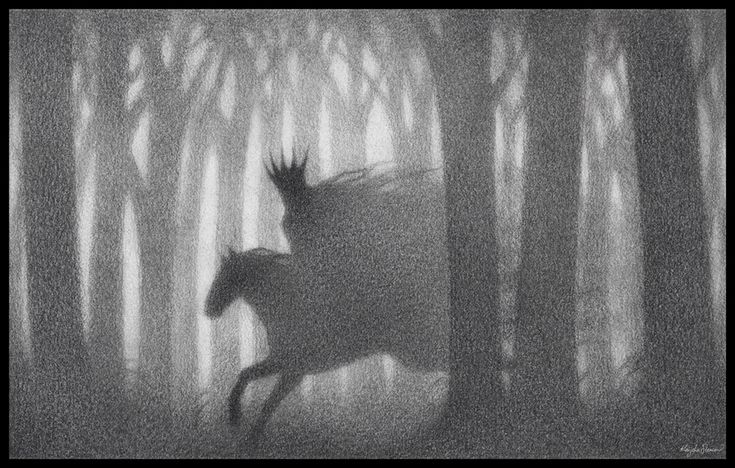 """Erlking by *Eldanis on deviantART The Erlking (German: Erlkönig, """"Alder King"""") is depicted in a number of German poems and ballads as a malevolent creature who haunts forests and carries off travellers to their deaths. The name may be an 18th-century mistranslation of the original Danish word elverkonge[1], """"elf-king"""". The character is most famous as the antagonist in Goethe's poem Der Erlkönig and Schubert's musical adaptation of the same name."""