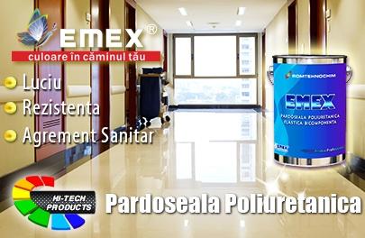 Polyurethane flooring for hospitals