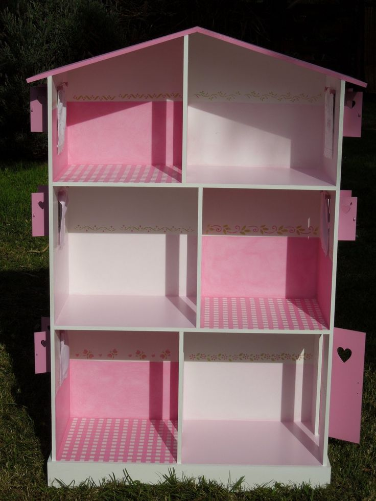 23 best images about casita barbie on pinterest toilets - La casita de madera ...