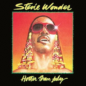STEVIE WONDER / スティーヴィー・ワンダー / HOTTER THAN JULY / ホッター・ザン・ジュライ (国内盤 帯 解説 歌詞 対訳付 SHM-CD)
