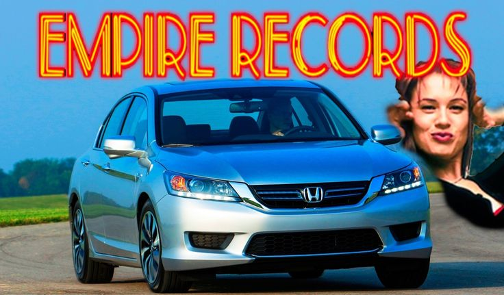Empire Records Generation — 2014 Accord Hybrid EX-L on Sexy Sugar High to Battle Mazda6 and Ford Fusion