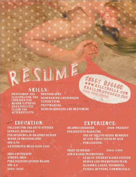 Best Creative Resumes Examples and Ideas of All Time   Top 100 Resume Samples
