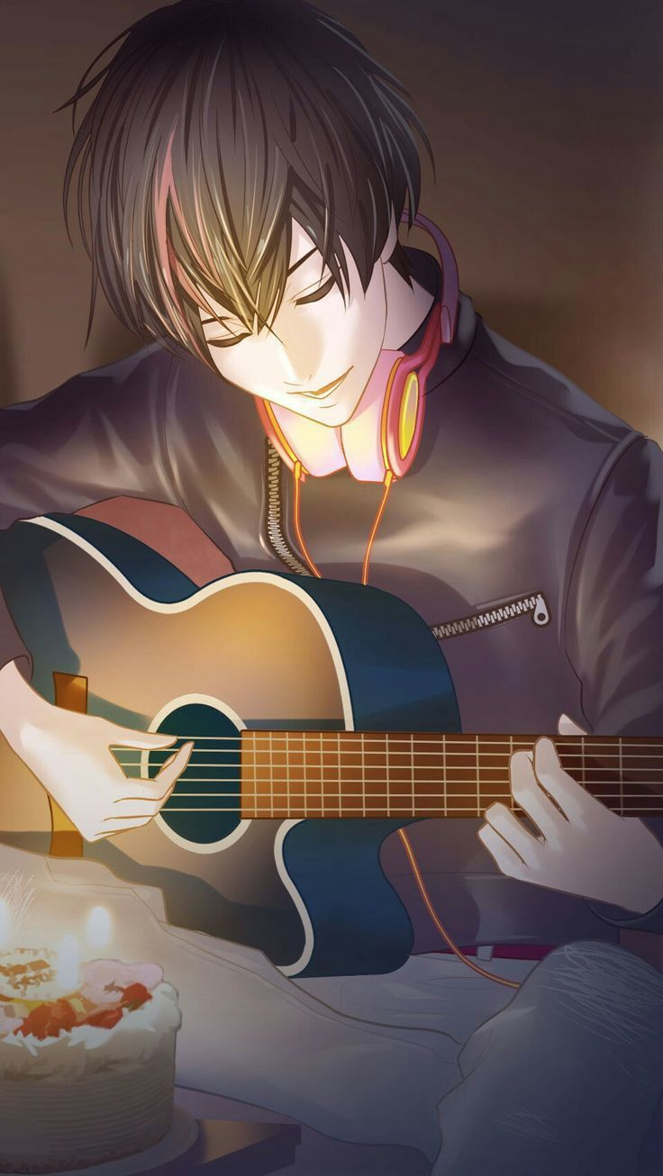 Best Animation Dp For Whatsapp In 2021 Aesthetic Anime Anime Music Anime Wallpaper Live Anime boy with guitar wallpaper