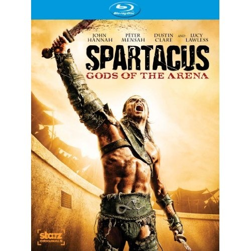 Amazon.com: Spartacus: Gods of the Arena [Blu-ray]: John Hannah, Lucy Lawless, Dustin Clare, Peter Mensah, Jaime Murray, Marisa Ramirez, Robert Tapert, Sam Raimi, Steven S. DeKnight, Joshua Donen: Movies & TV