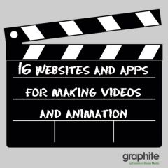16 Websites and Apps for Making Videos and Animation | graphite Blog