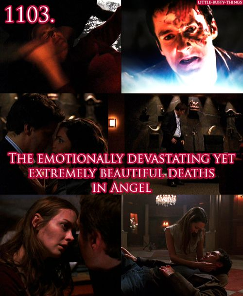 Wesley's death was the only Buffy/Angel death I cried over