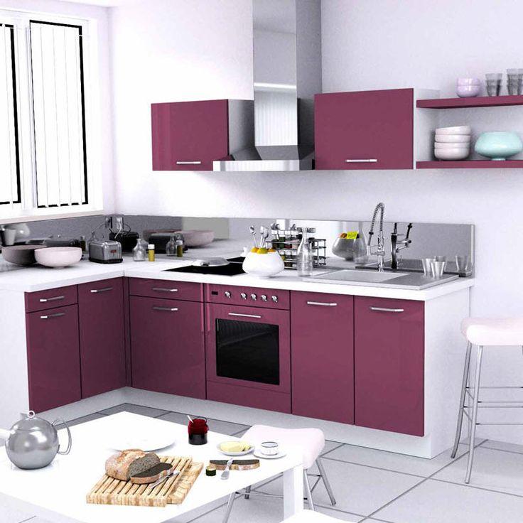 cuisine amenage delamaison achat cuisine amnage strass longueur cm module duangle longueur with. Black Bedroom Furniture Sets. Home Design Ideas