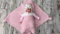 Giyilen Bebek Battaniyesi YapımıGiyilen