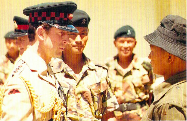 HRH The Prince of Wales's visit to Brunei in February 1984