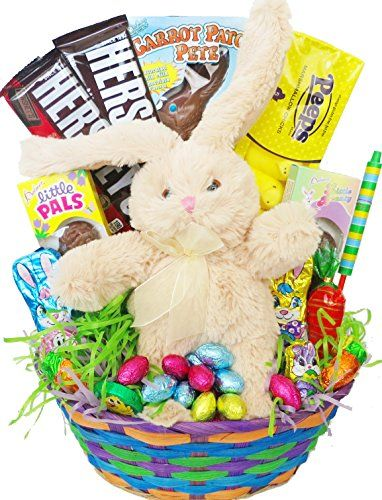 1500 best candy gifts images on pinterest candy favors candy gourmet easter gift basket premade and shrink wrapped kids boys girls negle Gallery