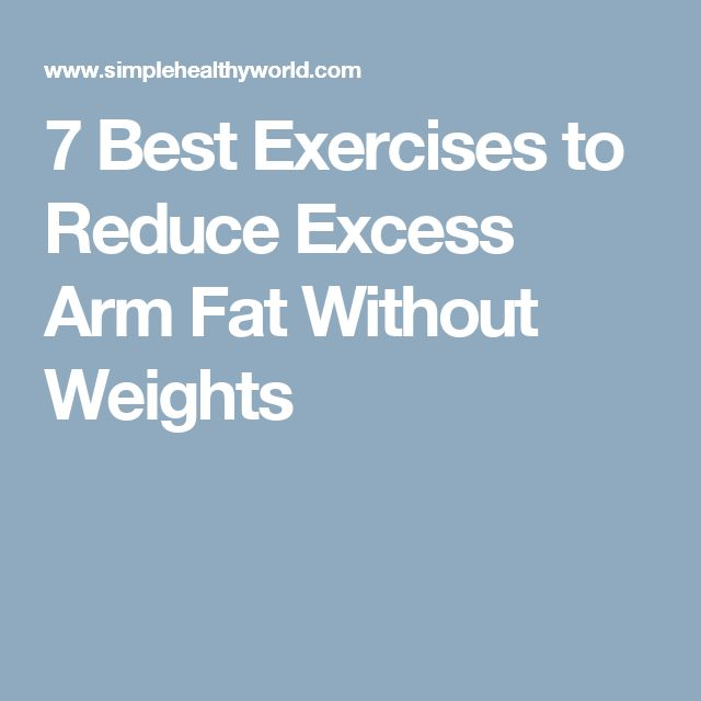 Workouts To Lose Chest Fat Best 5 Recommended By Experts: Best 25+ Arm Workouts Without Weights Ideas On Pinterest