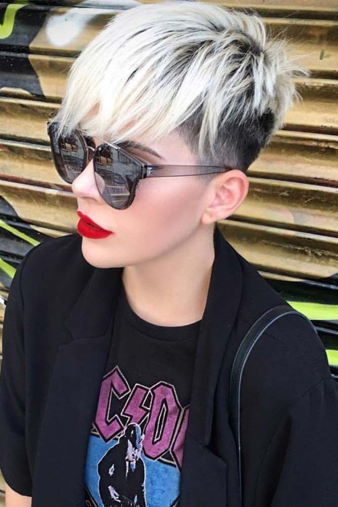 Despite the variety of haircuts for short hair, not everyone will dare trying them on straight away. But when you have a nice set of ideas, why not?#haircuts#hairstyles#haircolor