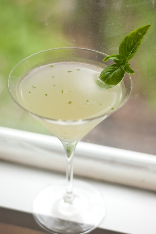 Basil Gimlet - hadsomething like this at bottega in yountville... they ...