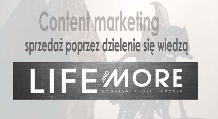 content marketing w portalu Life and More