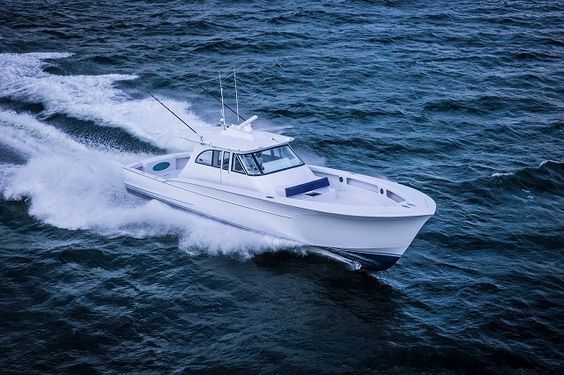 Sport Fishing Yachts & Custom Carolina Boats   57' Center Console