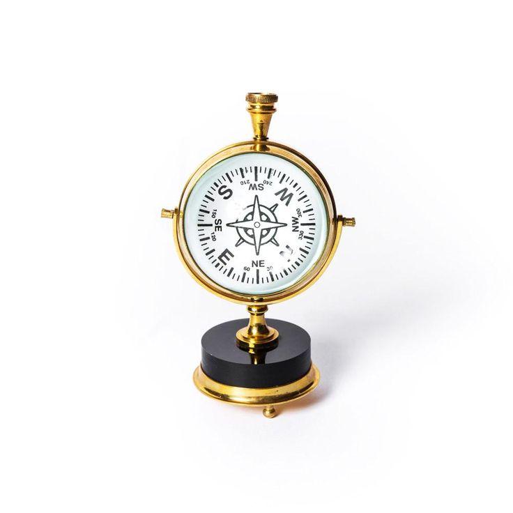 The Large Brass Clock