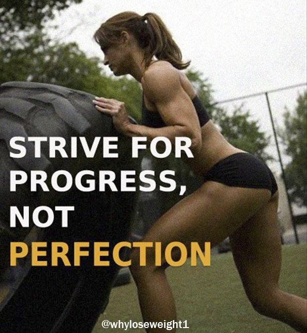 Strive for progress, not perfection.  #healthy #stronger #SuccessTRAIN #workout #lifestyle #EnjoyLife #bodybuilding
