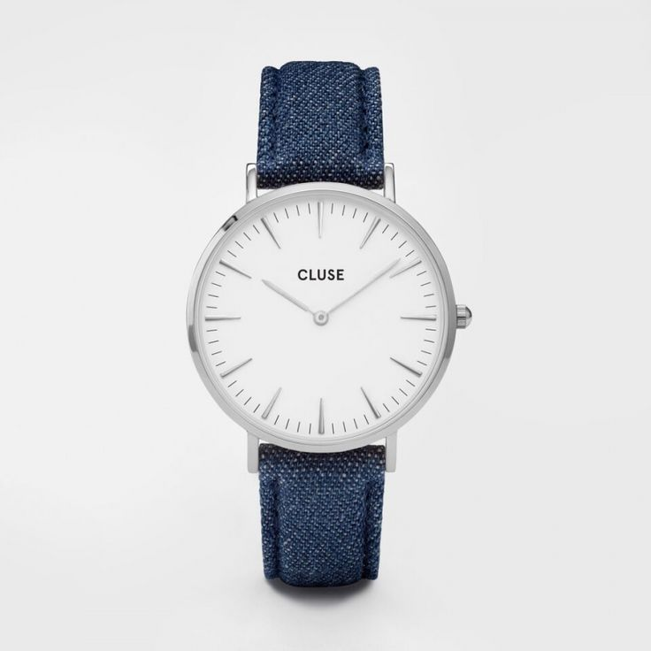 La Bohéme Silver White/Blue Denim CL18229