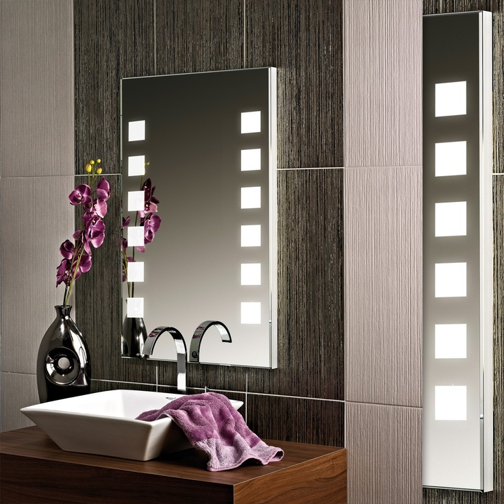 36 best badspiegel images on pinterest glass neon and. Black Bedroom Furniture Sets. Home Design Ideas