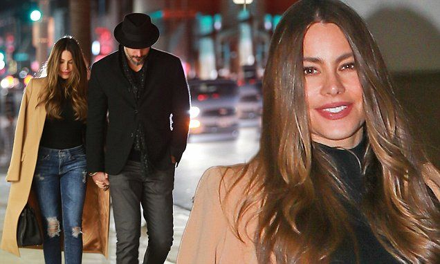 Sofia Vergara enjoys date night with husband Joe Manganiello
