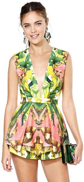 ROMPER: http://www.glamzelle.com/collections/whats-glam-new-arrivals/products/chic-next-in-line-tropical-print-playsuit-2-colors-available
