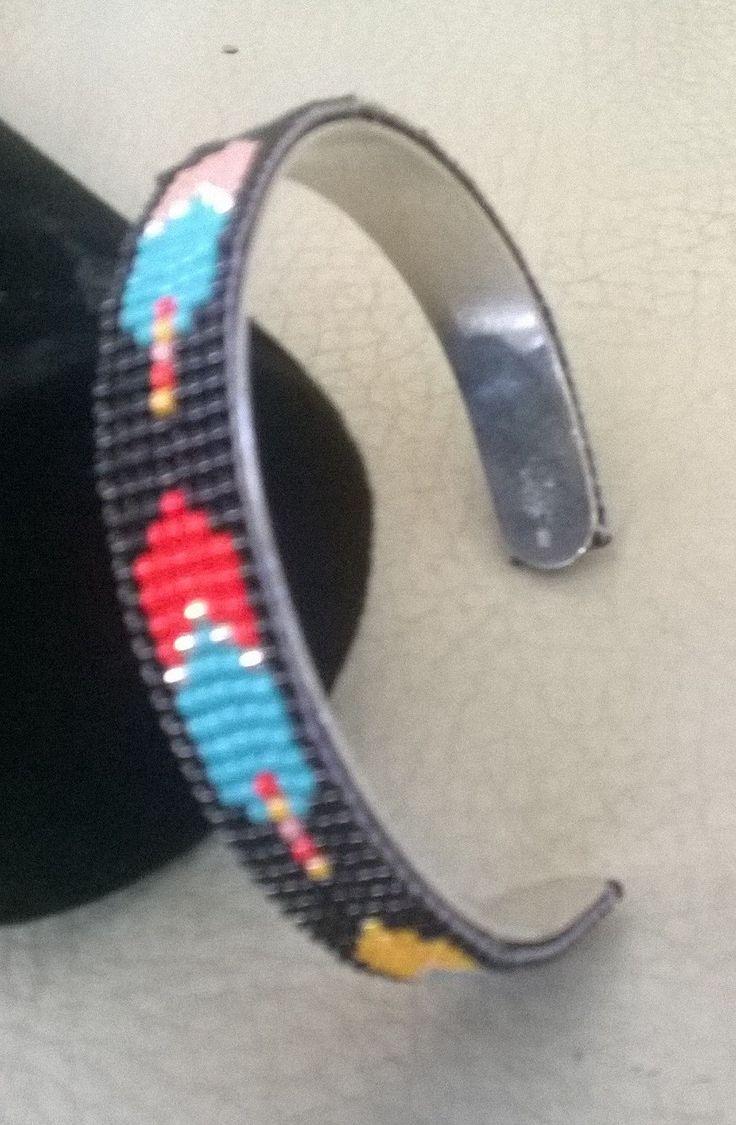 armband met kraaltjes door starsandstripesshop op Etsy