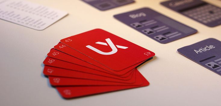 Website Deck – UX Kits #wireframes #cards #resources