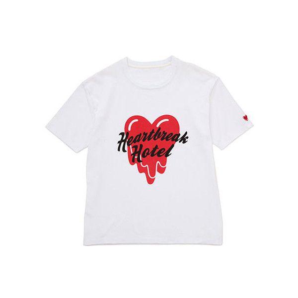 ユナイテッドアローズとエディソン・チャンのブランドがコラボ 原宿で限定ショップ開催 ❤ liked on Polyvore featuring tops, t-shirts and tees
