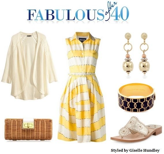 This yellow sundress is happy like summer. It is a versatile item to pack.
