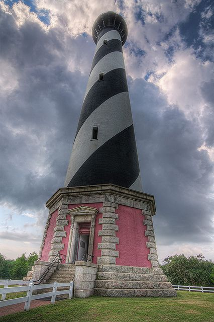 Cape Hatteras Lighthouse. Hard to believe that they moved this lighthouse several years ago. Can you imagine moving this beauty!? Glad it is still in one piece.