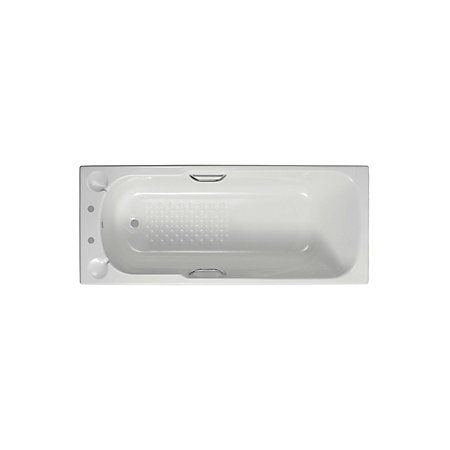 Armitage Shanks Sandringham Acrylic Rectangular Straight Bath (L)1695mm (W)695mm | Departments | DIY at B&Q