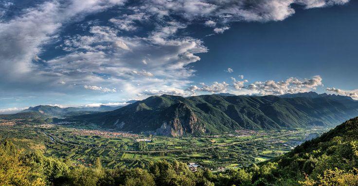 La Valle di Susa vista dal Caprasio (Foto Franco Borrelli)