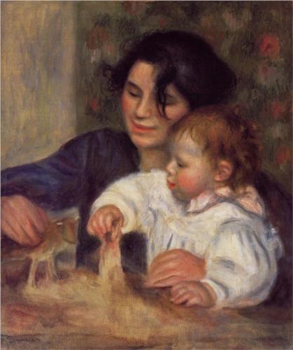 Gabrielle and Jean - Pierre-Auguste Renoir