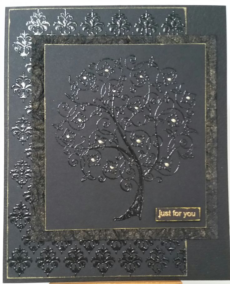 Flowering Tree 4953G, Background siset092 & Just for You 3319C by Stamp-it. Card by Susan of Art Attic Studio