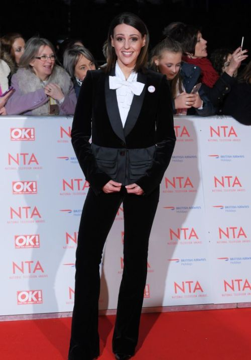 Suranne Jones  National Television Awards at O2 Arena in London...