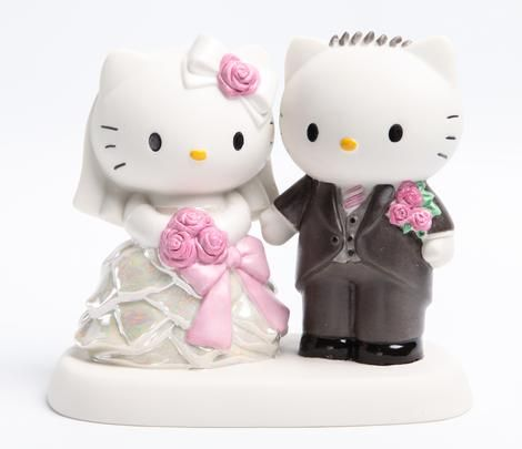 Precious Moments x Hello Kitty: Wedding - I don't think it is just a coincidence that Precious Moments and Hello Kitty came together for a wedding line just in time for Tim and I to get married!!