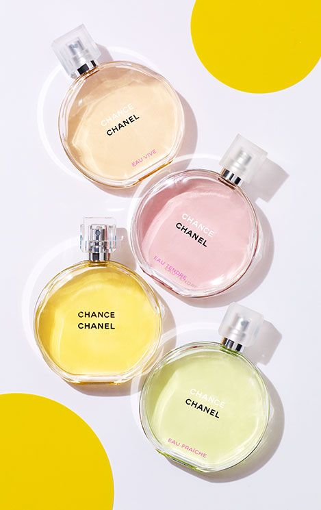 Chanel's four sparkling Chance fragrances each have their own unique spirit — just like your Mom! This Mother's Day, find the one that reminds you of her remarkable personality.